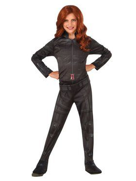 Kids Black Widow Child Costume