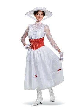 Mary Poppins Deluxe Adult Costume
