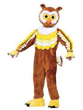 Mascot - Give A Hoot (Owl) Adult Costume