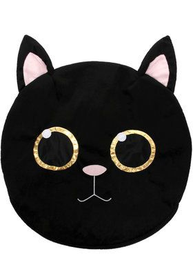 2018 Halloween Masksot Head - Cat One Size