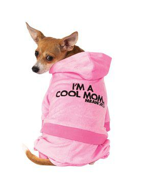 Pet Mean Girls Track Suit Mom Costume