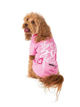 Pet Mean Girls So Fetch Tee Costume