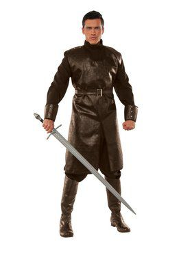 Medieval Fighter - Brown Adult Costume