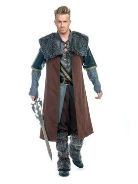 Medieval Warrior Plus Adult Costume