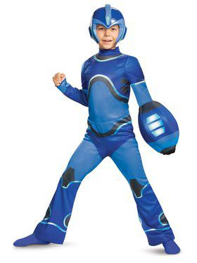 Megaman 3-D Classic Child Costume