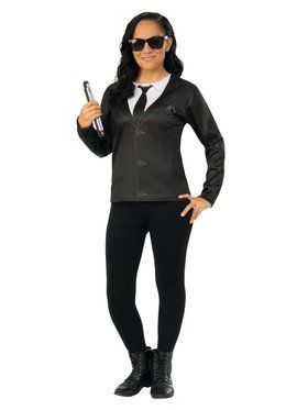 Men in Black 4 Agent EM Costume Top Adult