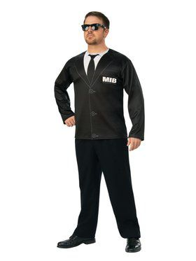 Men in Black 4 Agent H Costume Top Adult