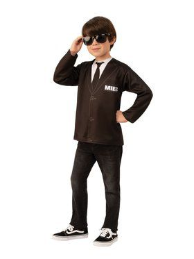 Men in Black 4 Child Costume Top Unisex