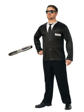 Men In Black Adult Costume Kit