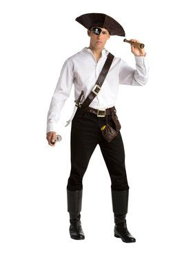 Adult Mens Pirate Kit