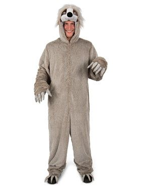 Mens Adult Swift The Sloth Costume
