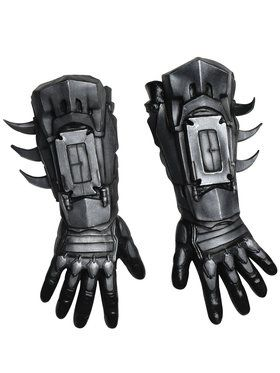 Deluxe Mens Arkham Batman Gloves