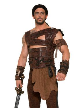 Men's Leather Armor Set