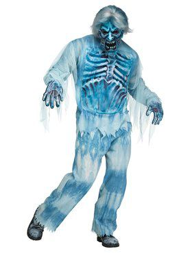 Mens Artic Zombie Costume