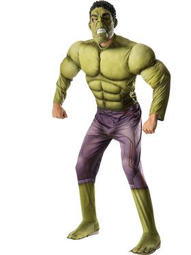 Avengers 2 - Age of Ultron: Deluxe Hulk Costume For Adults