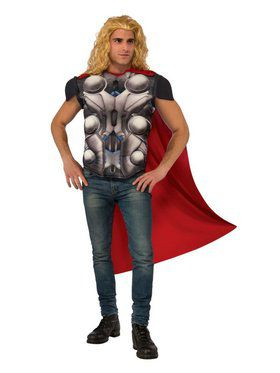 Men's Avengers 2 Thor Costume Top