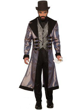 Mens Badlands Gambler Costume