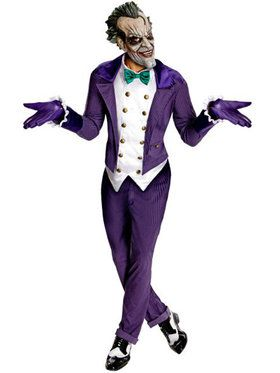 Mens Batman The Joker Adult Costume