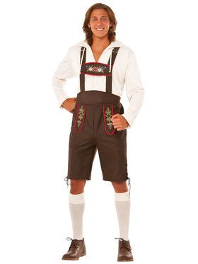 Mens Beer Garden Man Costume