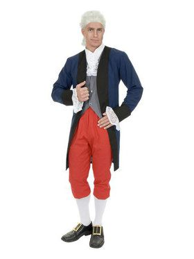 Mens Ben Franklin Colonial Man Costume