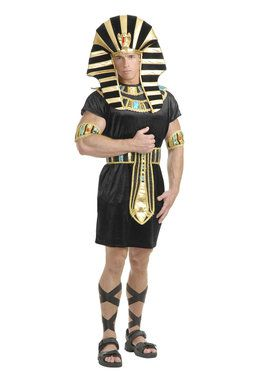 Black and Turquoise King Tut Costume