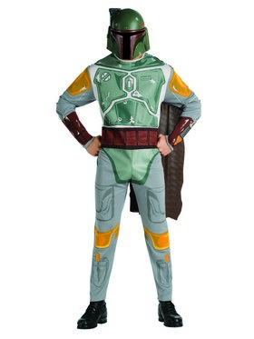 Mens Boba Fett Costume