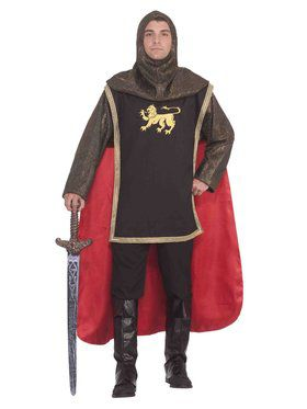 Medieval Knight Men's Costume