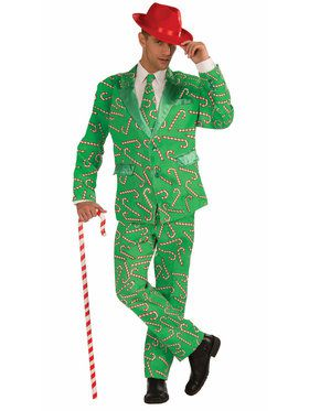 Mens Candy Cane Suit
