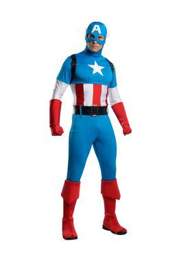 Men's Captain America Adult Costume