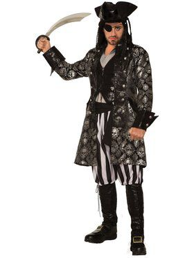 Captain Sterling Blackskull Costume for Adults