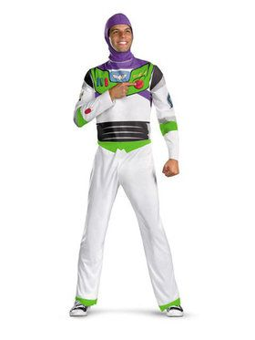 Buzz Lightyear Classic Mens Toy Story Costume