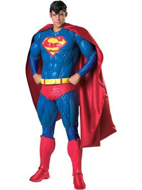 Mens Collectors Edition Superman Costume