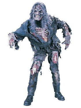 Men's Complete 3D Adult Zombie Costume