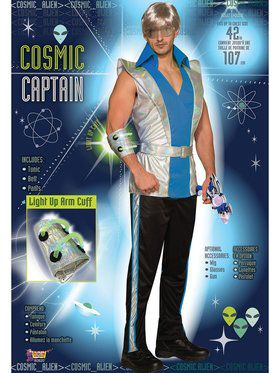 Mens Captain Cosmic Costume
