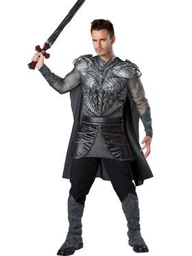 Men's Dark Medieval Knight Costume
