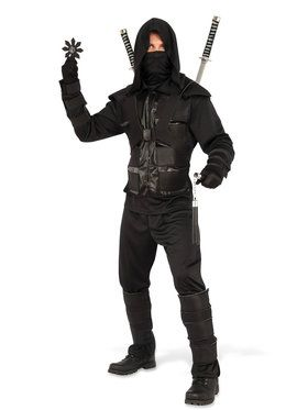 dark ninja mens costume