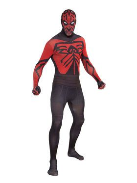 Darth Maul Star Wars Skin Suit Costume