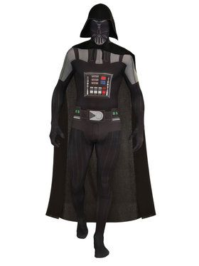 Mens Darth Vader Second Skin Costume