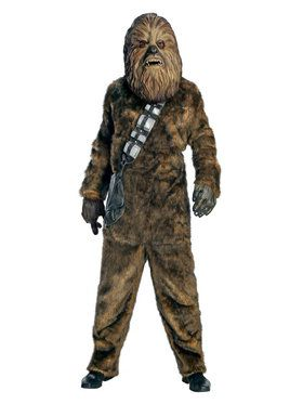 Star Wars Mens Dlx Chewbacca Costume