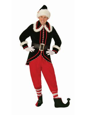 Mens Deluxe Elf Costume