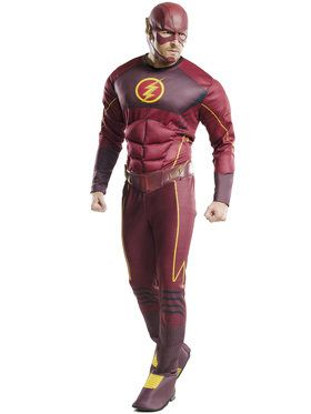 Men's Deluxe Flash Adult Costume