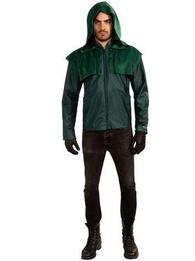 Mens Deluxe Green Arrow Costume