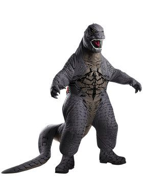 Inflatable Godzilla Adult Deluxe Costume