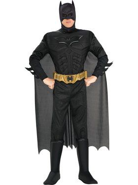 Deluxe Muscle Adult Dark Knight Batman (