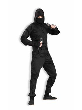 Dark Ninja Deluxe Mens Costume