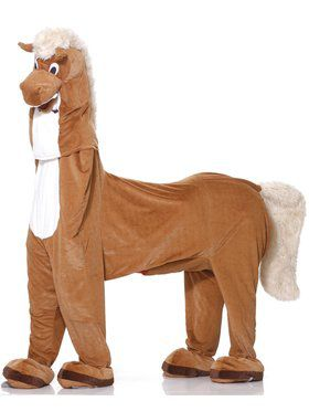 Dlx Plush Two-man Horse Adult Costume
