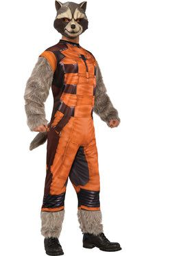 Mens Deluxe Rocket Raccoon Costume