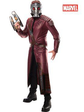 Mens Deluxe Star-lord Costume