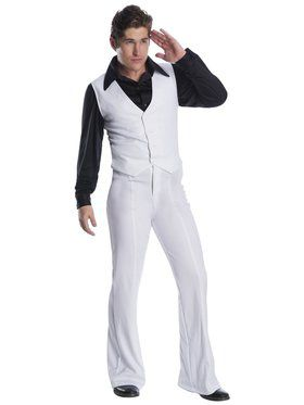 Men's Disco Fever King Costume