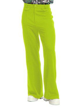 Men's Disco Pants - Lime
